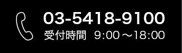 03-5418-9100
